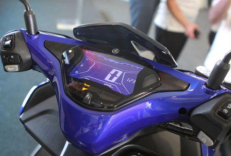 Chi tiet Yamaha NVX - xe tay ga thay the Nouvo - Anh 6