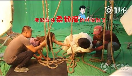 Canh leo nui trong phim Trung Quoc duoc quay the nao? - Anh 4