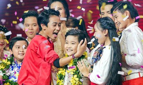 'Tai nang cheo nhi' Nhat Minh gianh ngoi quan quan The Voice Kids - Anh 1
