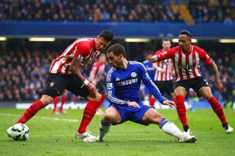 Truc tiep Southampton vs Chelsea: Danh chiem top 4 - Anh 1