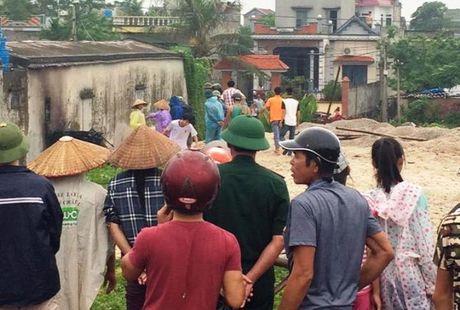 Hien truong tan hoang sau vu no noi hoi o Thai Binh - Anh 4