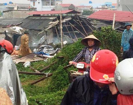 Hien truong tan hoang sau vu no noi hoi o Thai Binh - Anh 5