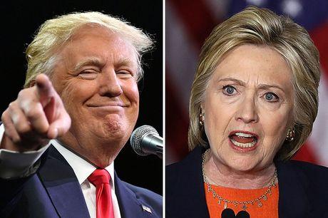 Ty phu Trump thu hep khoang cach dang ke voi ba Clinton - Anh 1