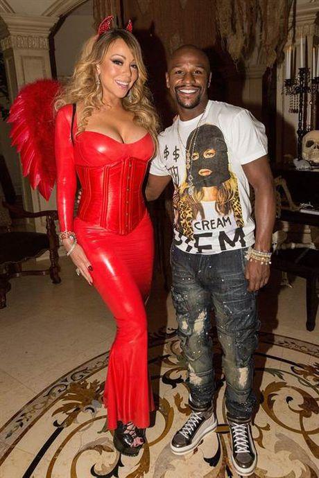 Halloween: Mariah Carey 'thanh' ac quy, Katy Perry 'hoa' Hillary Clinton - Anh 11
