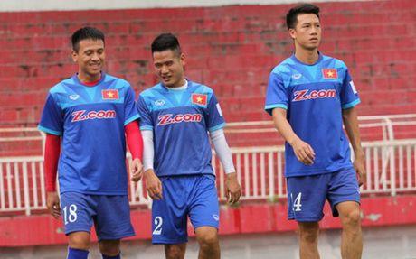 DT Viet Nam 'thiet quan' truoc AFF Cup - Anh 1