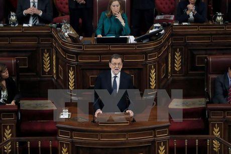 Tay Ban Nha: Tan Thu tuong Rajoy xuc tien lap chinh phu thieu so - Anh 1