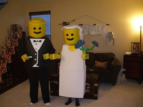 Cung cac cap doi hai huoc buoc ra duong don Halloween - Anh 12