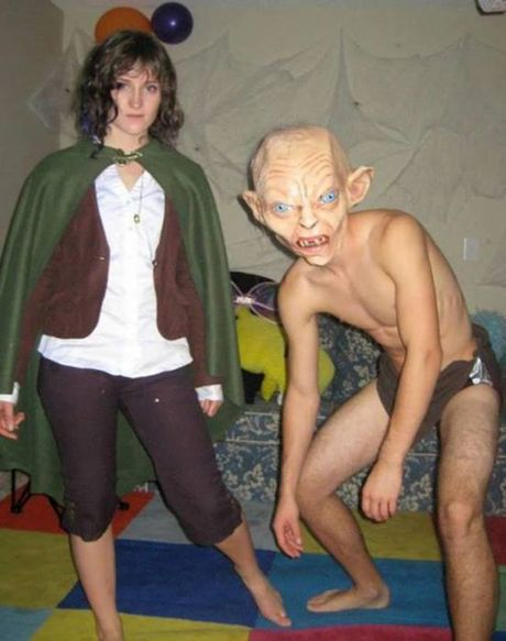 Cung cac cap doi hai huoc buoc ra duong don Halloween - Anh 14