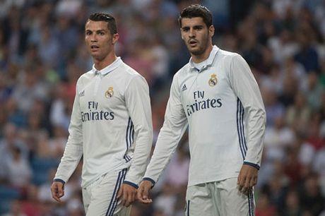 SOC: Hieu suat ghi ban cua Ronaldo kem xa Alvaro Morata - Anh 1