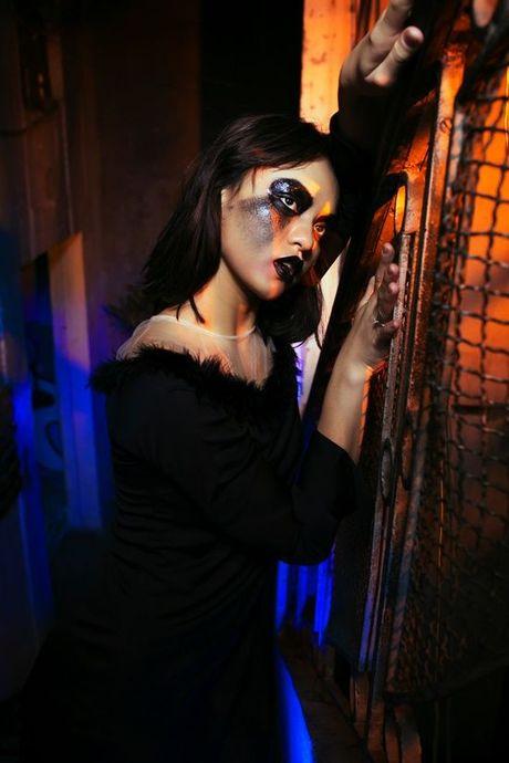 Sao Viet hoa trang Halloween rung ron doa fan dung tim - Anh 2