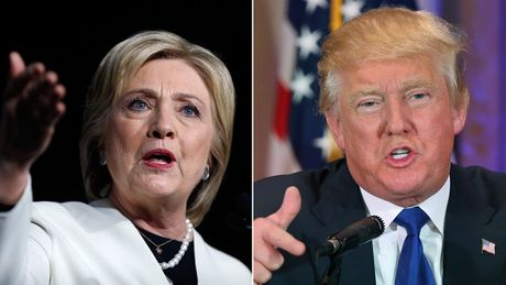 Trump - Hillary: Nhung phat ngon xoc tan oc nhau - Anh 1
