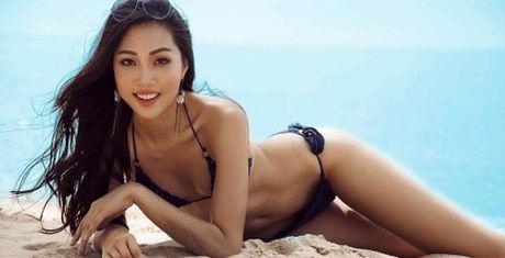 Ngam Dieu Ngoc dien bikini nong bong khi bi to phau thuat tham my - Anh 1