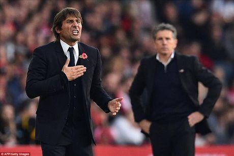 Southampton 0-2 Chelsea: Voi Conte, khoanh khac loe sang cua Hazard va Costa la du! - Anh 6