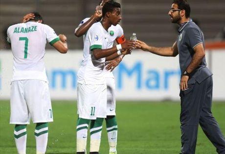 HLV U19 Saudi Arabia khang dinh U19 Nhat Ban vo dich may man - Anh 1