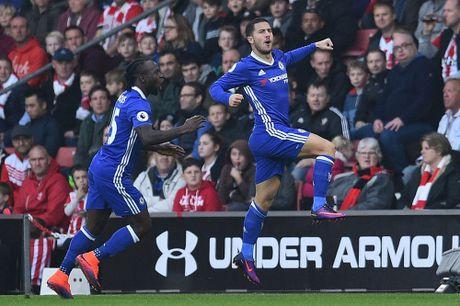 Hazard phut thu sau, Costa lap sieu pham giup Chelsea thang dep Southampton - Anh 3