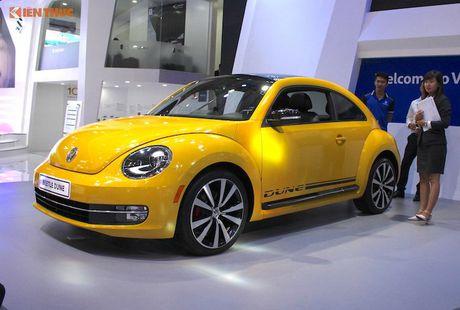 Volkswagen Viet Nam dem Beetle 'fake' den VIMS 2016 - Anh 1