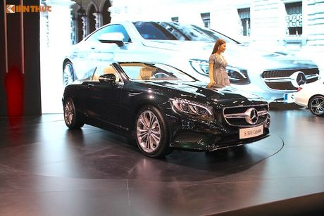 Mui tran Mercedes S500 Cabriolet gia 10,8 ty dong tai VN - Anh 10