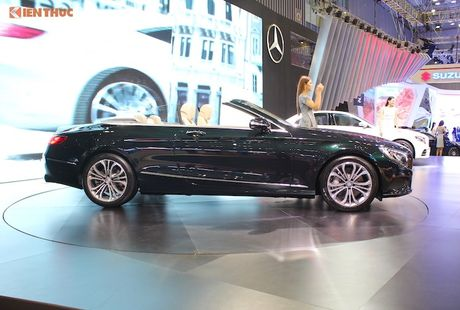 Mui tran Mercedes S500 Cabriolet gia 10,8 ty dong tai VN - Anh 3
