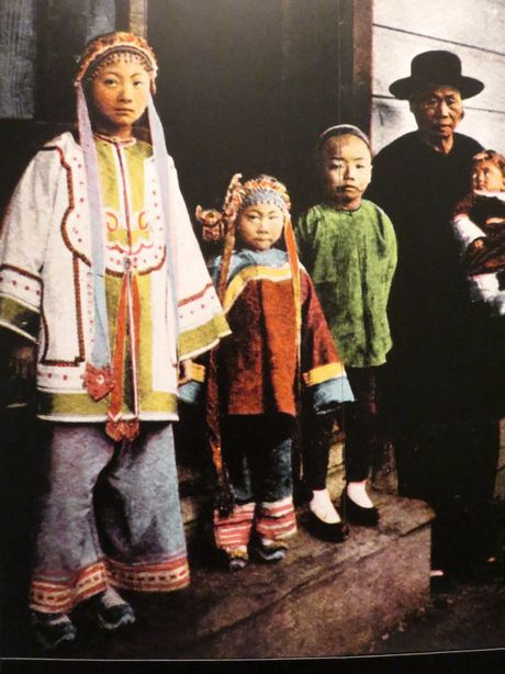 Anh cuc dang yeu ve tre em trieu Man Thanh Trung Quoc - Anh 2