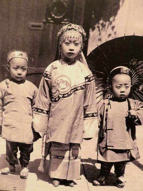 Anh cuc dang yeu ve tre em trieu Man Thanh Trung Quoc - Anh 3