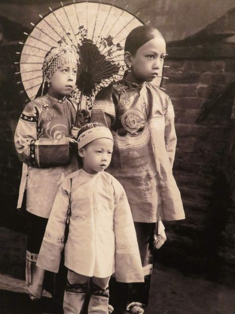 Anh cuc dang yeu ve tre em trieu Man Thanh Trung Quoc - Anh 7