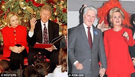 Katy Perry bien thanh ba Hillary Clinton di du tiec Halloween - Anh 3