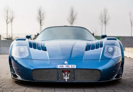 Maserati MC12 doc ban Versione Corse 'tai xuat giang ho' - Anh 2
