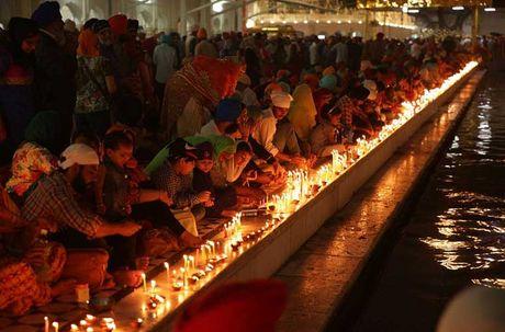 Tung bung le hoi Diwali o An Do qua anh - Anh 1
