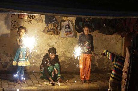 Tung bung le hoi Diwali o An Do qua anh - Anh 2