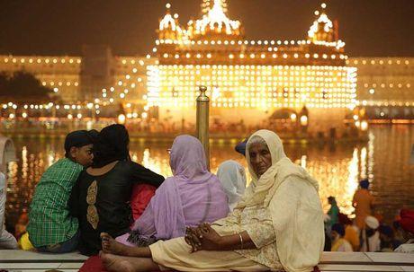 Tung bung le hoi Diwali o An Do qua anh - Anh 6