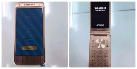 Lo dien hinh anh ve smartphone 2 man hinh cua Samsung - Anh 1