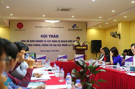 Chung tay hanh dong phong chong tac hai thuoc la tai Viet Nam - Anh 1