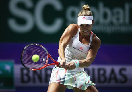 Cibulkova bat ngo ha Kerber de dang quang WTA Finals 2016 - Anh 2