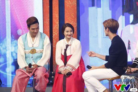 Nha Phuong dien hanbok sieu de thuong trong Bua trua vui ve - Anh 2