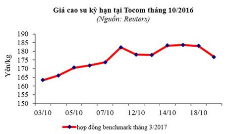 Xuat khau cao su 10 thang dau nam 2016 uoc dat 1,28 ty USD - Anh 1