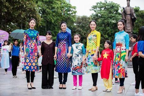 Hoa hau, A hau nhay flashmob o Ho Guom - Anh 2