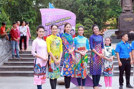 Hoa hau, A hau nhay flashmob o Ho Guom - Anh 3