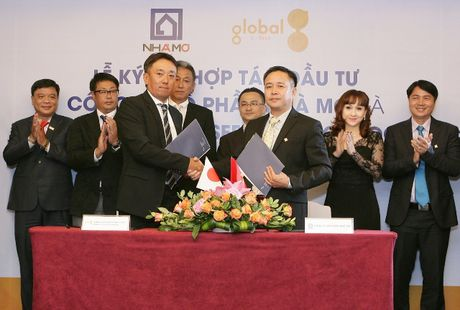 Hop tac giua Tap doan The Global Group voi Cong ty CP Nha Mo - Anh 1