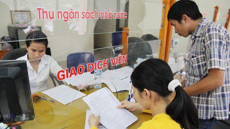 Thu ngan sach nha nuoc dat 80,9% du toan nam 2016 - Anh 1