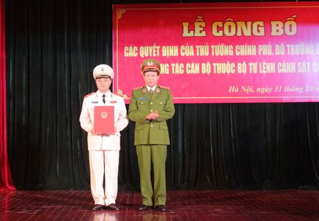 Thu tuong bo nhiem Tu lenh Canh sat co dong - Anh 2