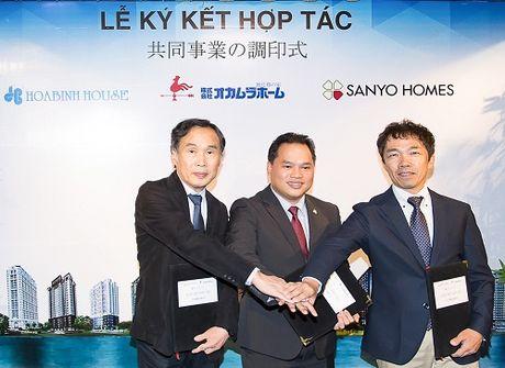 Hoa Binh House bat tay 2 doi tac Nhat trong mang quan ly dia oc - Anh 1