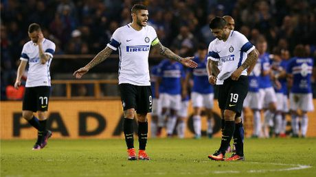 Sampdoria - Inter Milan: Bong toi tro lai - Anh 1