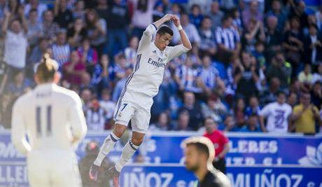 Tieu diem Liga V10: Ronaldo tinh giac, Real thang hoa - Anh 1