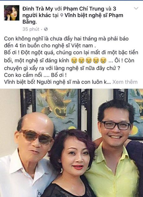 Nghe si Pham Bang qua doi o tuoi 85 - Anh 3