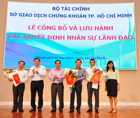 Ong Tran Van Dung chinh thuc duoc bo nhiem lam Chu tich HOSE - Anh 1
