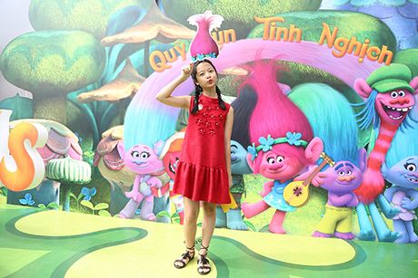 Gia dinh sao Viet hao hung voi 'Quy lun tinh nghich - Trolls' - Anh 3