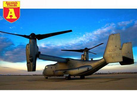 V-22 Osprey - Van tai co sieu di cua Khong luc My - Anh 1