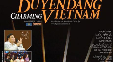 Don doc Duyen Dang Viet Nam so 36 phat hanh ngay 1.11 - Anh 1