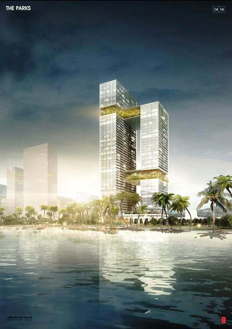 Cong bo giai Nhat thiet ke kien truc du an Hoa Sen Tower tai Binh Dinh - Anh 1