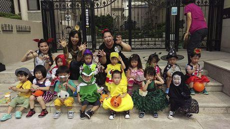 Be gai hoa trang 'Vo Dien' trong ngay Halloween hot nhat cong dong mang - Anh 4